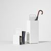 Alfred Magazine Rack & Umbrella Stand | White Powder Coat Metal | Home & Office Accessories