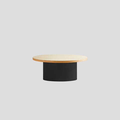 Dial Round Coffee Table - Cylinder