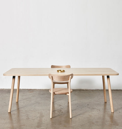 Partridge Rectangle Table - Large | Dining & Meeting Tables | Nicholas Karlovasitis & Sarah Gibson | DesignByThem