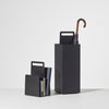 Alfred Magazine Rack & Umbrella Stand | Black Powder Coat Metal | Home & Office Accessories