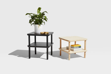Baker Side Table with Shelf | Coffee & Side Tables | Nicholas Karlovasitis & Sarah Gibson | DesignByThem | Gallery