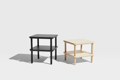Baker Side Table with Shelf | Coffee & Side Tables | Nicholas Karlovasitis & Sarah Gibson | DesignByThem
