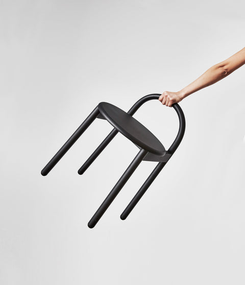 Bobby Stool Metal | Stainless Steel Indoor Outdoor | Daniel Tucker | DesignByThem