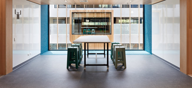 Butter Bar Stool | Adelaide Botanic High School | Cox Architecture | DesignByThem | Gallery