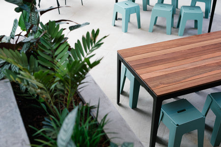 Tuck Timber Table | Bridgeway Hotel | DesignByThem | Gallery