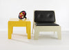 Butter Coffee & Side Table | Recycled Plastic Furniture | Indoor & Outdoor Use | Sustainable Design