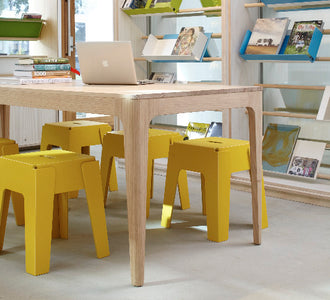 Nishi Library by Design Office | Butter Stool | Gallery