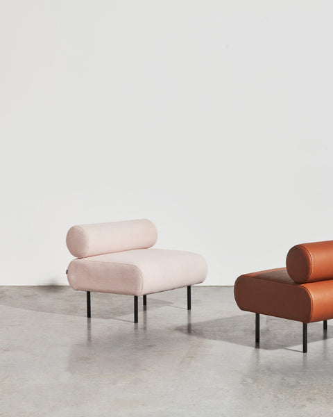 Cabin Seat by Gibson Karlo | DesignByThem | Fabric & Leather Upholstered Lounge