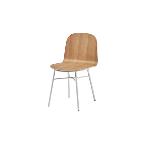 Potato Chair - Oak - Tube Non Stack Base