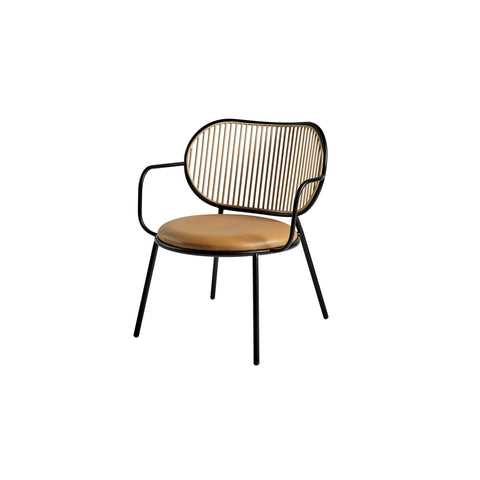 Piper Lounge Chair - Upholstered Seat