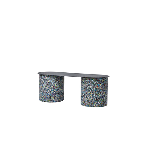 Confetti Bench - Small - Metal