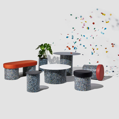 Confetti Planter | 100% Recycled Plastic Indoor/Outdoor Pot | DesignByThem | GibsonKarlo