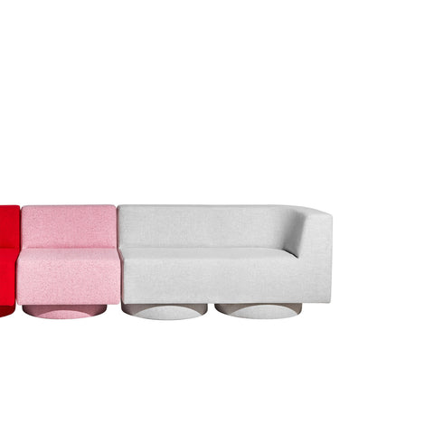 Confetti Modular Lounge - Low-Back - Upholstered Base