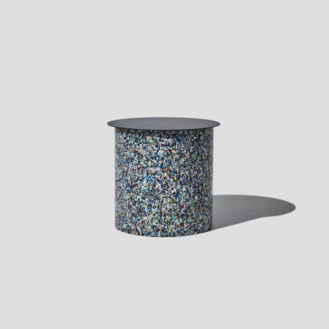 Confetti Stool | 100% Recycled Plastic Indoor/Outdoor Furniture | DesignByThem | GibsonKarlo