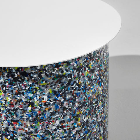 Confetti Side Table | 100% Recycled Plastic Indoor/Outdoor Furniture | DesignByThem | GibsonKarlo
