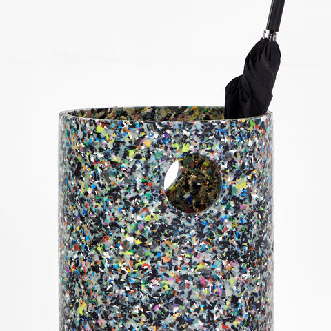 Confetti Umbrella Stand | 100% Recycled Plastic | GibsonKarlo | DesignByThem