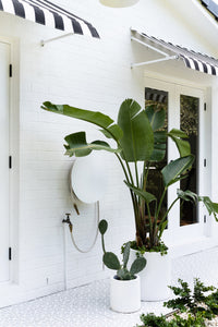 Adore Magazine Loni Parker Backyard Renovation | Dial Hose Hanger | Gallery