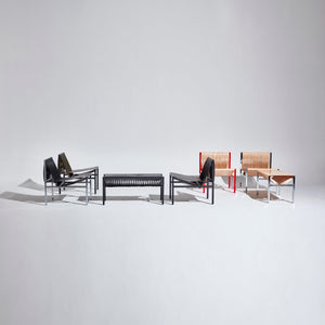 DL Lounge Chair & Bench by Dion Lee