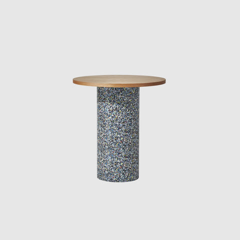 Confetti Round Bar Table | 100% Recycled Plastic | Indoor Outdoor | GibsonKarlo | DesignByThem