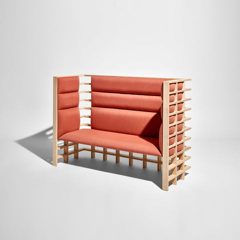 Mochi Booth by Elliot Bastianon for DesignByThem | Acoustic Timber Upholstered Lounge | Australian Made