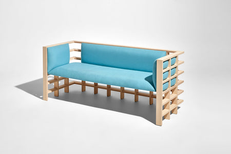 Mochi Lounge by Elliot Bastianon for DesignByThem | Timber Upholstered Lounge | Australian Made | Gallery