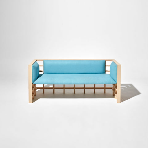 Mochi Lounge by Elliot Bastianon for DesignByThem | Timber Upholstered Lounge | Australian Made