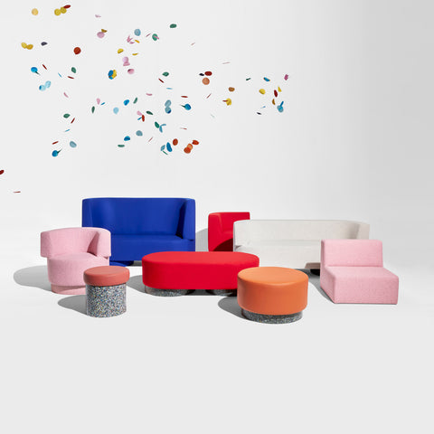 Confetti Modular Lounge - Low-Back