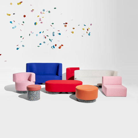 Confetti Upholstered Range | Lounges & Armchairs | GibsonKarlo for DesignByThem
