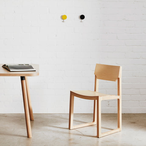 Cub Chair | Timber Sled Chair | Jon Goulder | DesignByThem