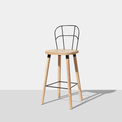 Partridge Bar Chair | Bar Stools | Nicholas Karlovasitis & Sarah Gibson | DesignByThem