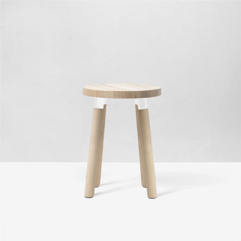 Partridge Low Stool - 4 Leg