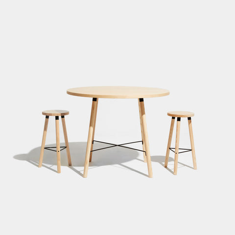 Partridge Round Bar Table | Dining & Meeting Tables | Nicholas Karlovasitis & Sarah Gibson | DesignByThem