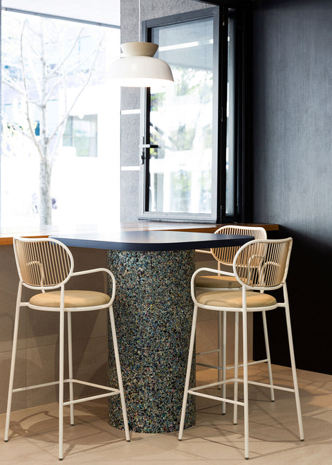 Piper Bar Chair with Armrests | 11 Moore St by Davenport Campbell and Intermain | DesignByThem Furniture