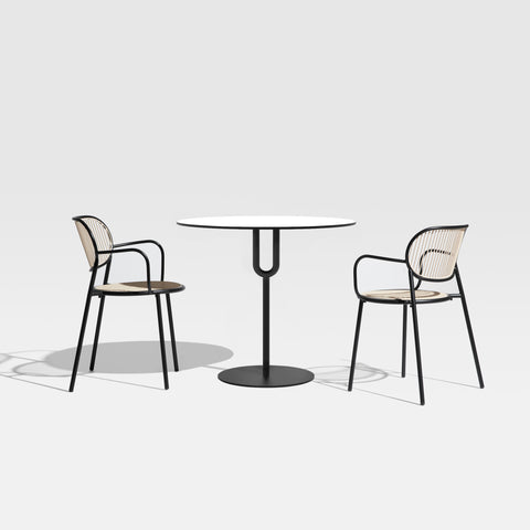 Piper Pedestal Table | Cafe & Dining Tables | Nicholas Karlovasitis & Sarah Gibson | DesignByThem