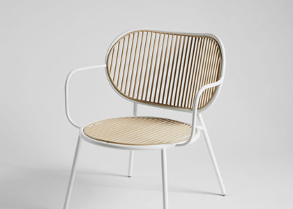 Piper Lounge Chair | Stainless Steel Outdoor Furniture | Gibson Karlo | DesignByThem | Gallery