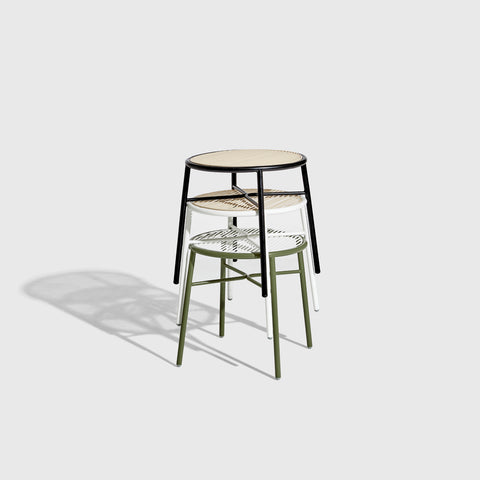 Piper Low Stool | Stackable Outdoor | Designed by GibsonKarlo | DesignByThem