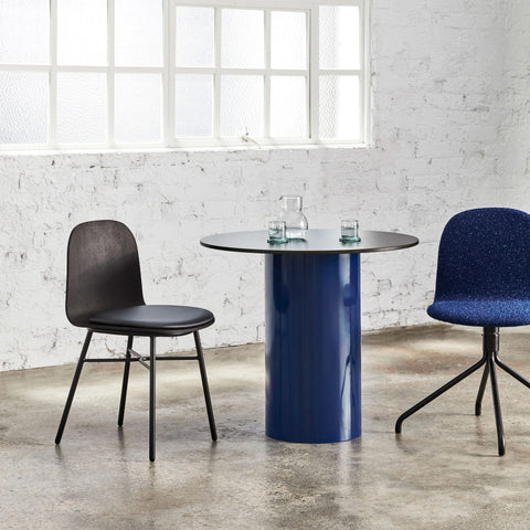 Dial Round Dining Table - Cylinder