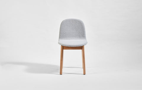 Potato Chair - Upholstered - Timber Base