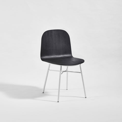Potato Chair | Timber & Upholstered Dining Office Chair with Handle | GibsonKarlo | DesignByThem