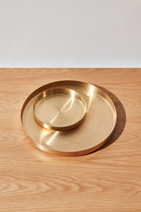 Radial Tray | Brass Bowl Homewares | DesignByThem
