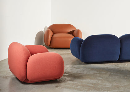 Sundae Leather Armchair