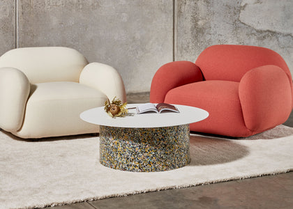 Confetti Coffee Table with Sundae Lounges | DesignByThem | Gallery