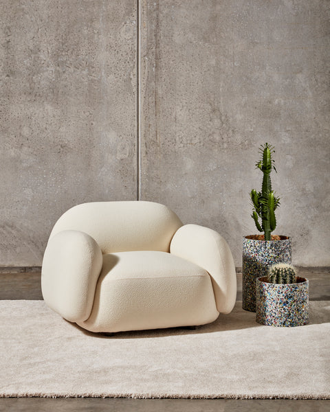 Sundae Armchair, Lounges & Ottomans | Upholstery | Jason Ju for DesignByThem