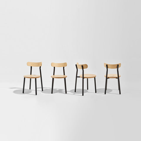 Them Chair | Ash & Walnut Timber & Metal Dining Chair | GibsonKarlo | DesignByThem | Gallery
