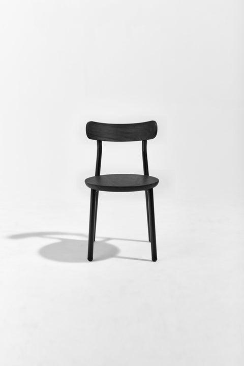 Them Chair Black Stained | Ash & Walnut Timber & Metal Dining Chair | GibsonKarlo | DesignByThem