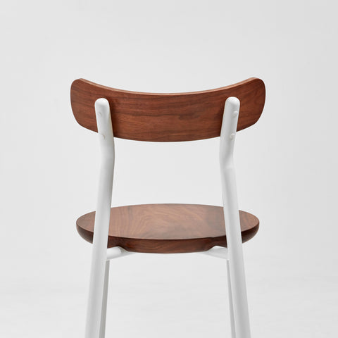 Them Chair | Ash & Walnut Timber & Metal Dining Chair | GibsonKarlo | DesignByThem