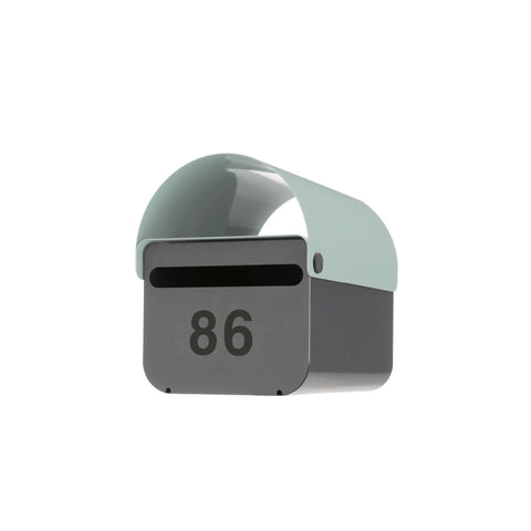 Duck-Egg Blue TomTom Letterbox | Outdoor Accessories | DesignByThem