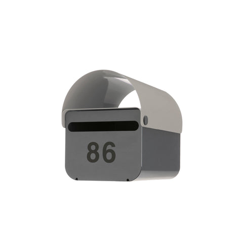 Light Grey TomTom Letterbox | Outdoor Accessories | DesignByThem