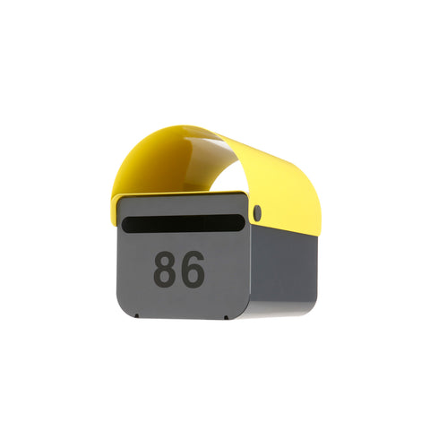Yellow TomTom Letterbox | Outdoor Accessories | DesignByThem