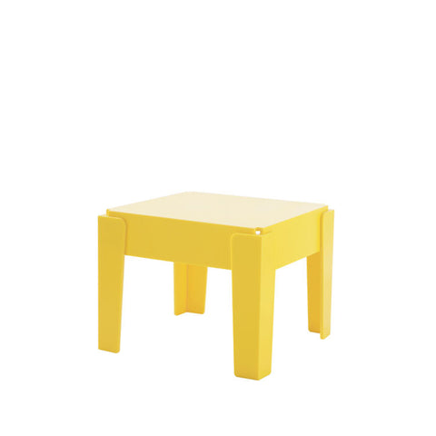 Butter Side Table | Recycled Plastic Furniture | Indoor & Outdoor Use | Sustainable Design